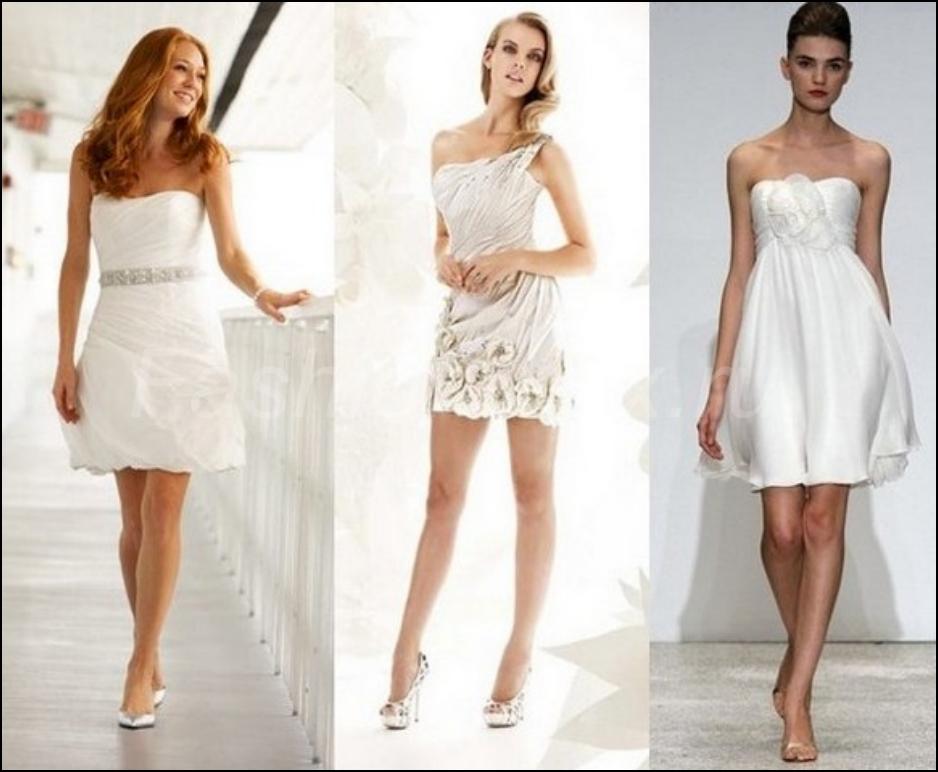 Платье короткое летнее на свадьбу
