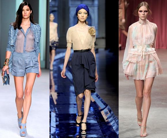 Мода Блузки Шифоновые Лето 2013 Год