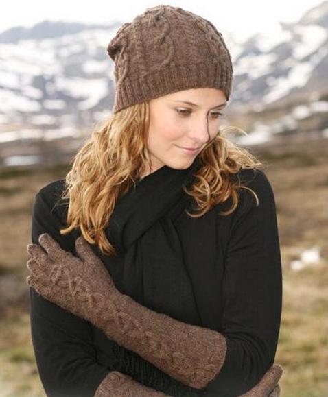 Модная шапка связать своими руками