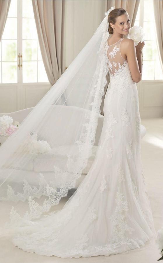 Платье испанка свадебное