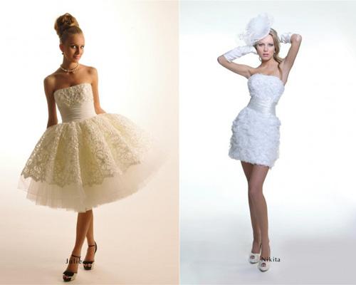 Не пышные свадебные платья своими руками