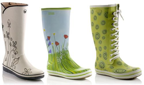 f1a152232 Модные женские резиновые сапоги. Писк моды - резиновые сапоги. Резиновые  сапоги - с чем носить?