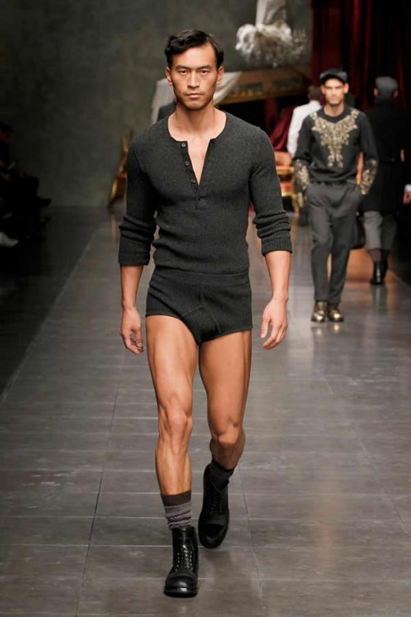 Dolce and Gabbana осень-зима для мужчин. История отношений. Тренды макияжа  от Dolce   Gabbana как выбрать свой стиль 6887968e107