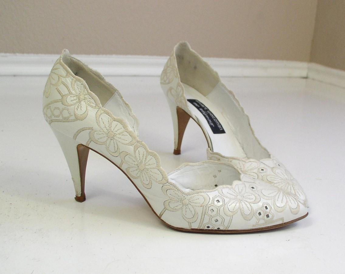 Подбираем туфли к свадебному платью