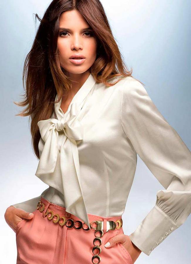 48366508a4c Женская блузка и правила ее выбора. Как подобрать блузку к разному низу  одежды  модный деловой костюм