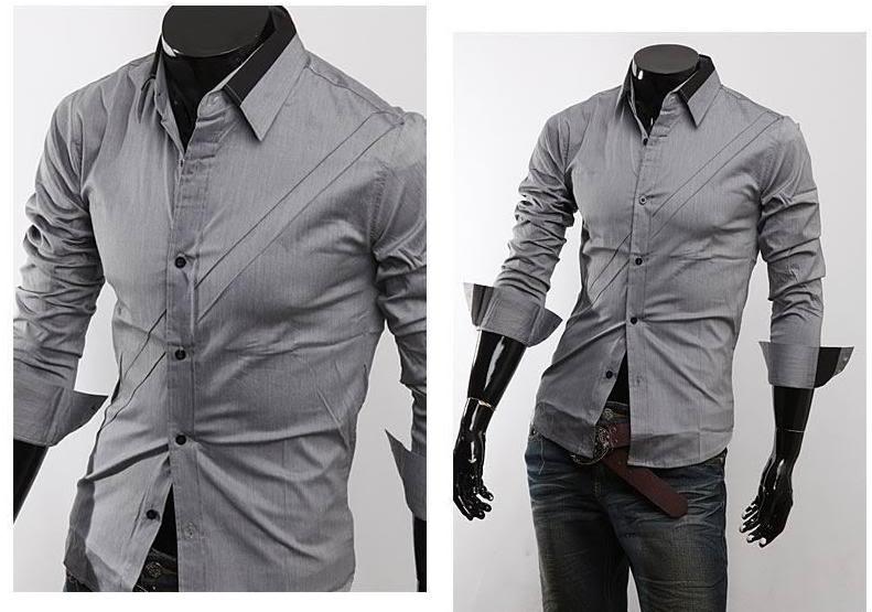 81d36df759c Мужские модные рубашки приталенные slim fit (фото). Выбираем рубашку  мужчине. Как правильно выбрать мужскую рубашку  мужская мода