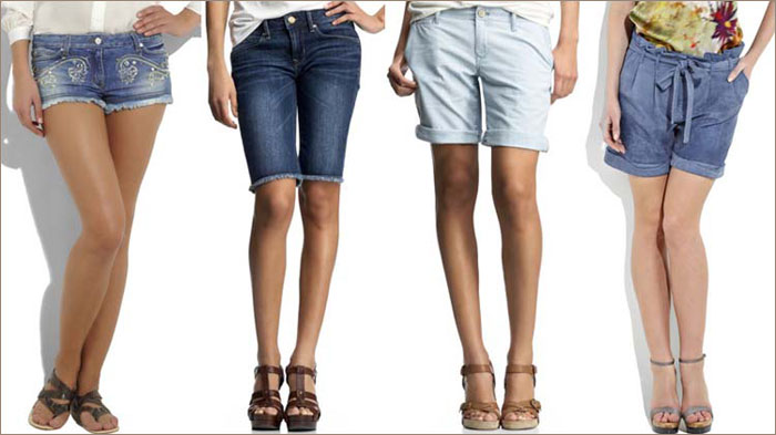 шорты джинсовые фото длинные