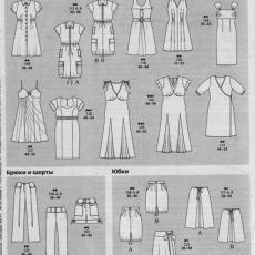 Выкройки платьев для беременных из журнала бурда 48