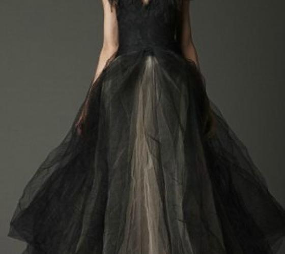 Коллекция свадебных платьев Vera Wang (фото): креативная невеста или черная вдова