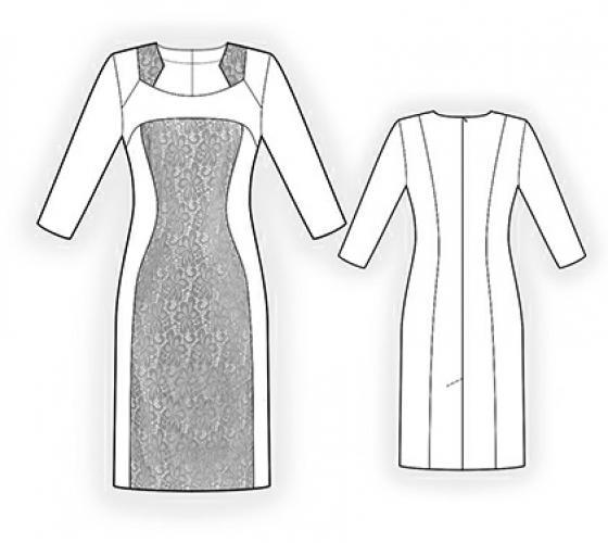 47ed5352dac5e8b Как правильно построить выкройку платья ? Советы по подбору модели ...