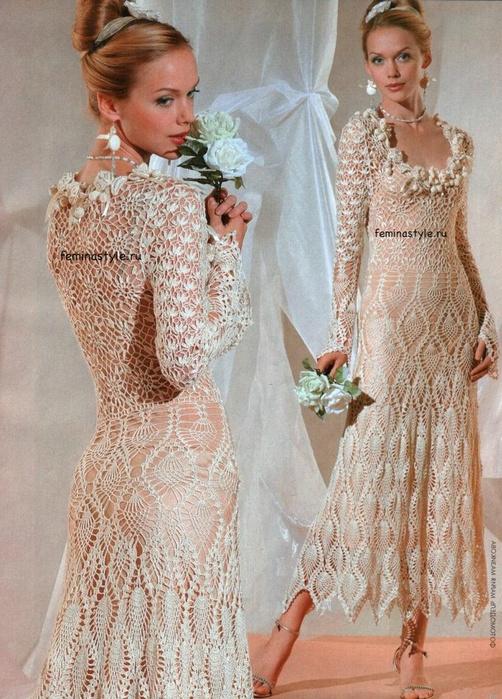 Схемы вязания и шитья женских
