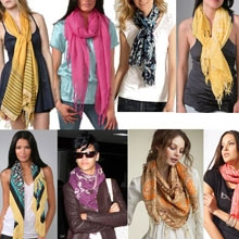Оригинальных способов красиво завязать шарф