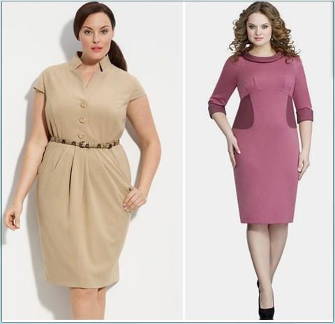 Новые фасоны платья для женщин