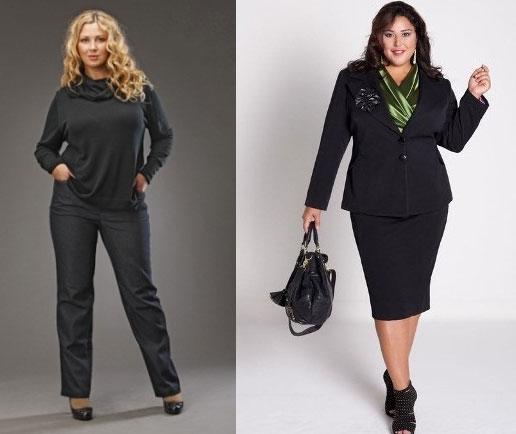 Классический Стиль В Одежде Для Полных Женщин