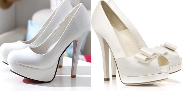 Туфли на шпильке свадебные