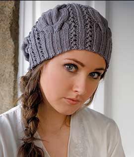 модные вязаные шапки спицами искусство вязания выбираем зимнюю