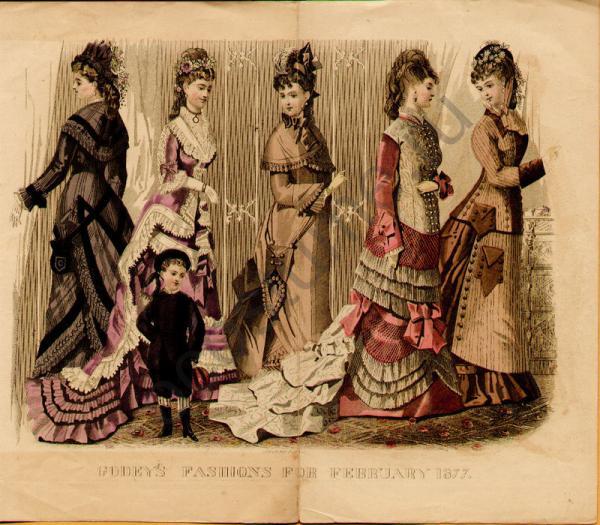 Картинки самых модных платьев 19 века
