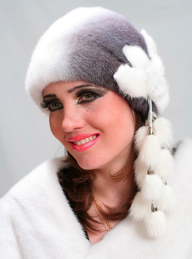 женская шапка-шлем схема вязания
