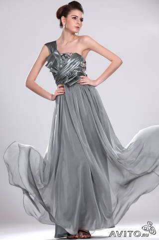 Платье из атласа как гладить
