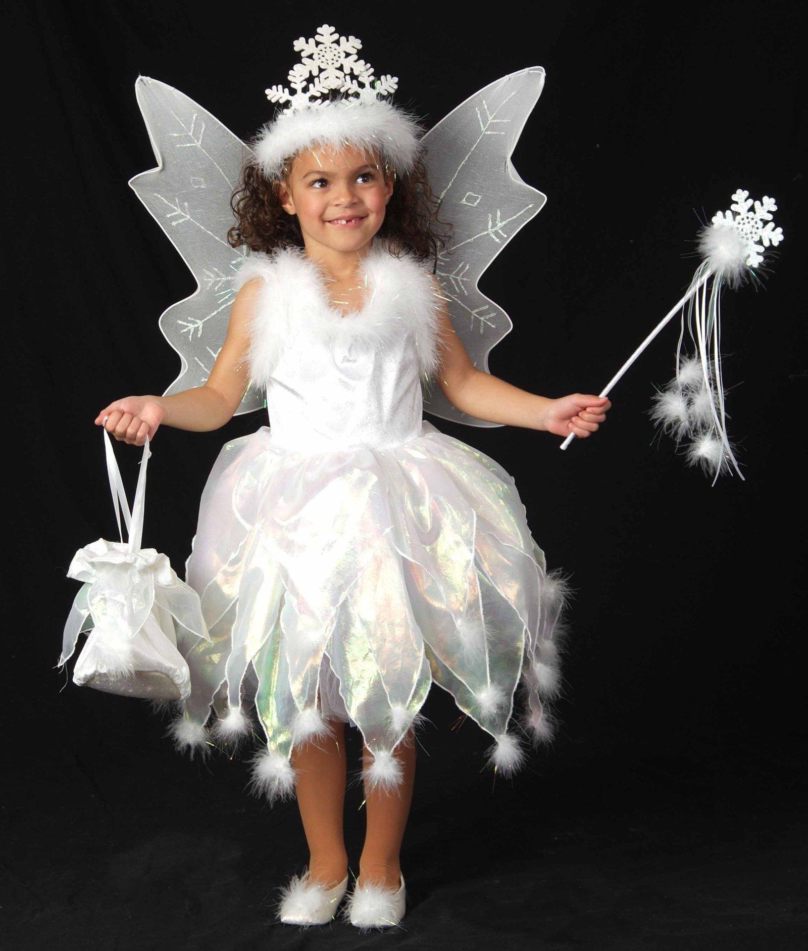 Новогодние костюмы белоснежки своими руками
