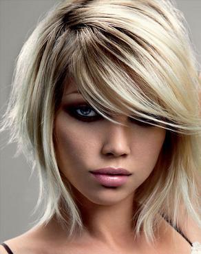 Прическа своими руками на средние тонкие волосы