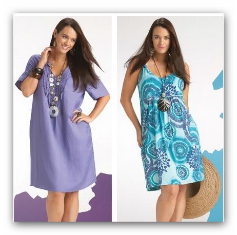 Фото платьев на лето для полных 149