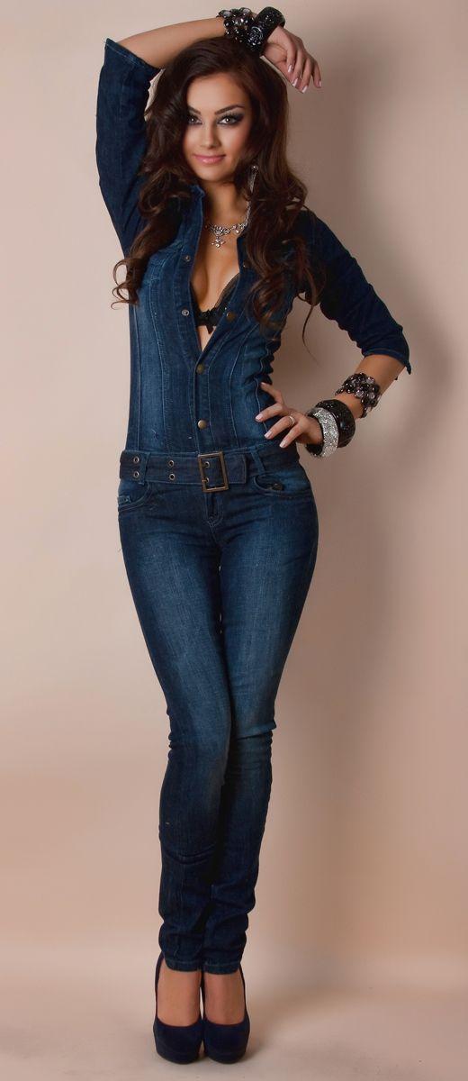 женская джинсовая одежда фото