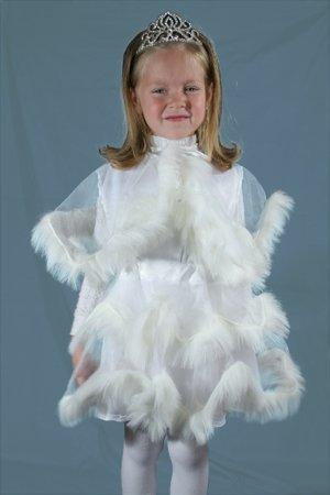 Платье снежинки для девочки на новый год
