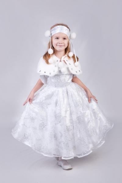 Белые платья снежинка