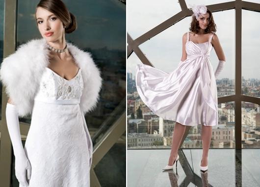 Описание девушки а свадебные платья
