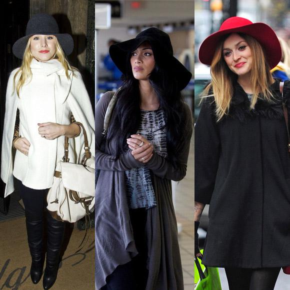Как носить шляпы женские