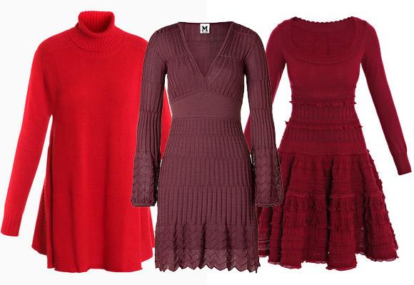 вязаные платья 2011-2012 с необычным